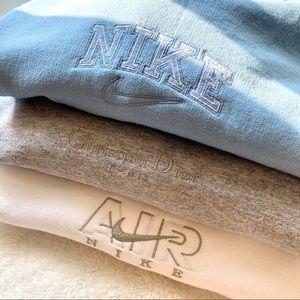 Custom Embroidered Nike/Nike Air/Dior Sweatshirt